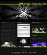 DJ X-Factor Website