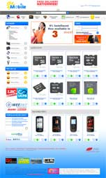 WOW Mobile E-Commerce Website