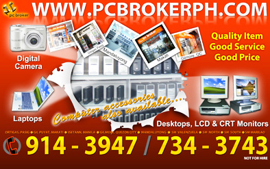 PC Broker Van Sticker
